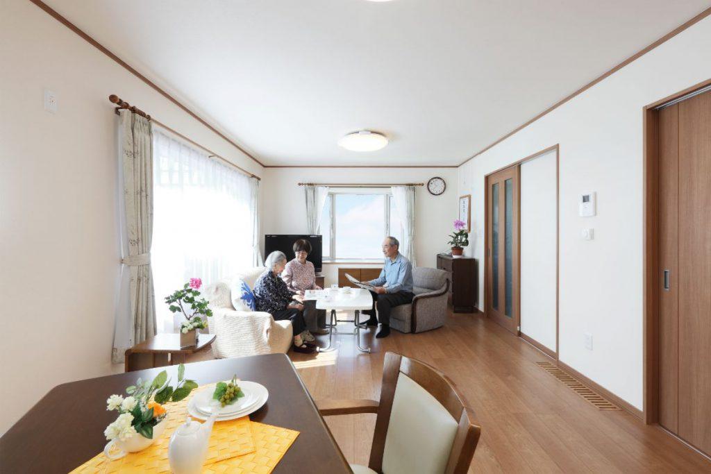 写真:お客様の声【札幌市・I邸】高断熱高気密重視の2世帯住宅(1)