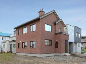 写真:お客様の声【札幌市・N邸】レンガの意匠性・耐久性に納得 評価100点(3)