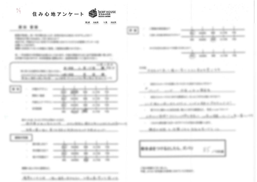 原田晋様 1年アンケート