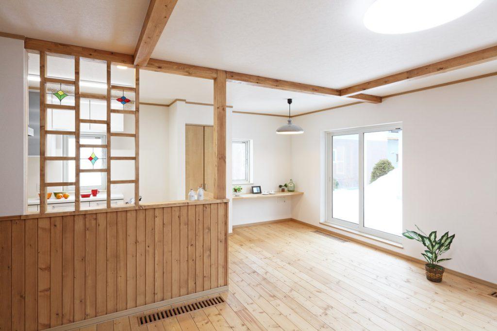 写真:お客様の声【札幌市・H邸】「暖かい家に入ると幸せを感じます」 評価85点(1)