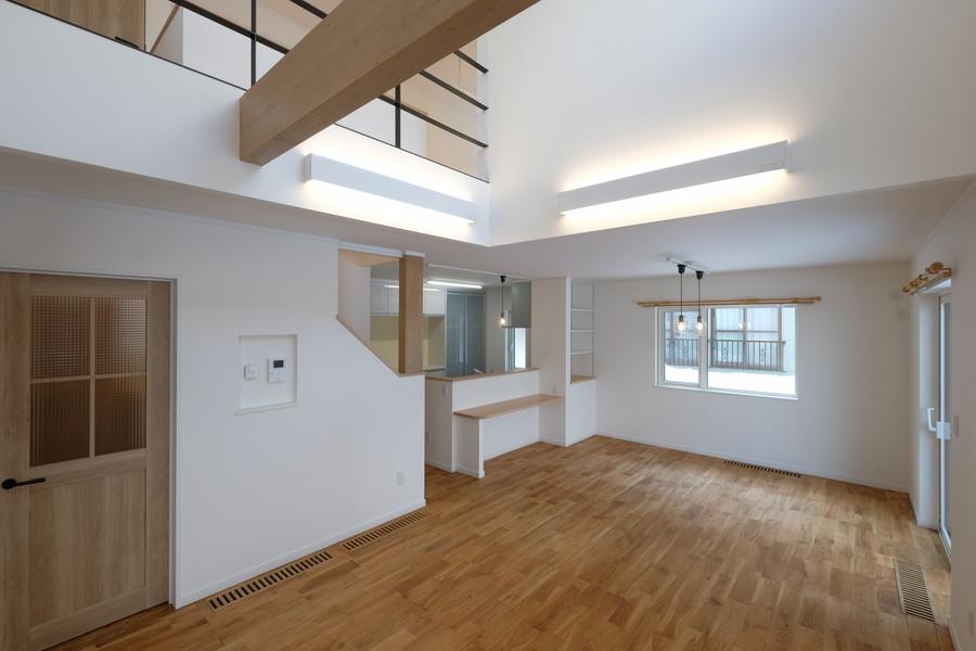 写真:希望の間取りで日常も趣味も楽しむ家【札幌市・S邸】(1)
